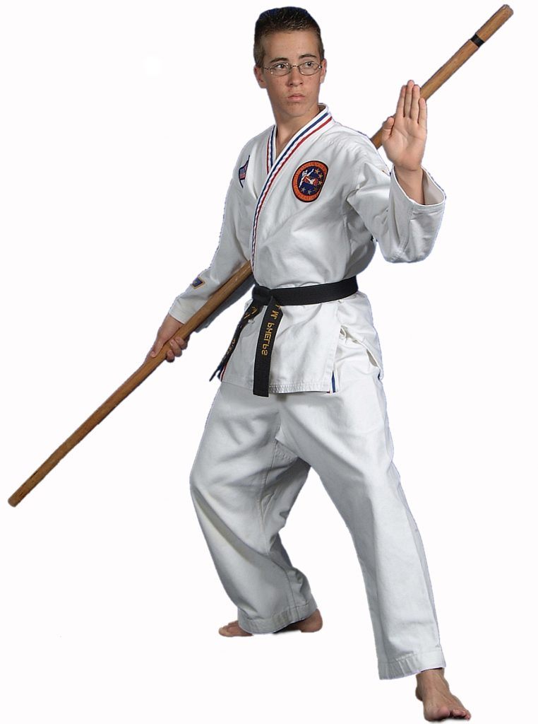 Karate Lesson Bo Staff Jahng Bong