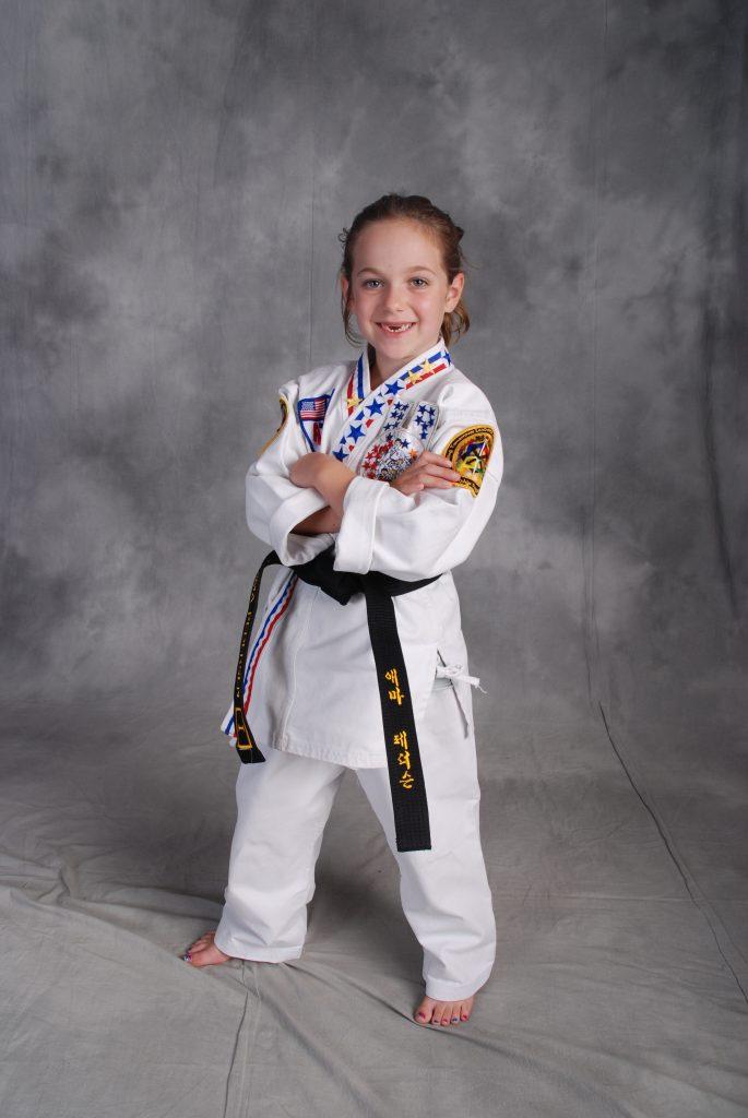 Awesome Black Belt Girl