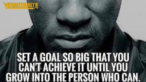 Setting a Goal So Big!