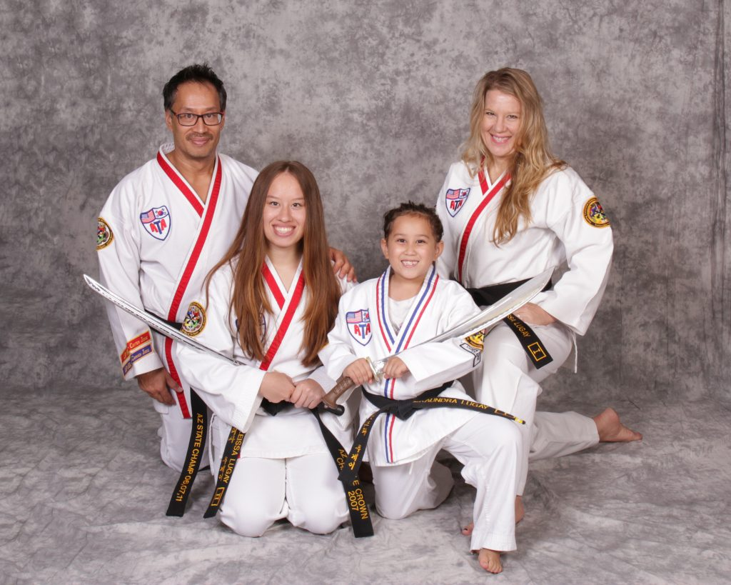 Family Karate Photo