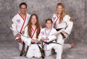 Family Karate Photo
