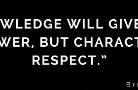 Character Gives Respect