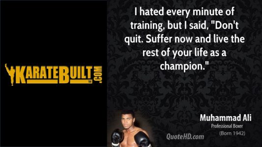 Ali - Training Matters!