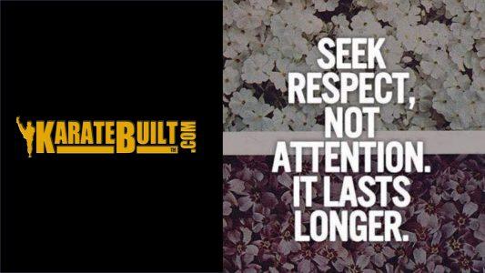 Seek Respect