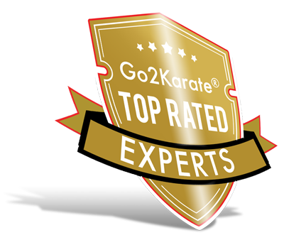 Go2Karate top rated badge