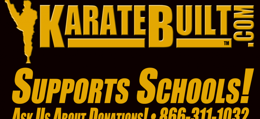 KarateBuilt.com Supports Schools!