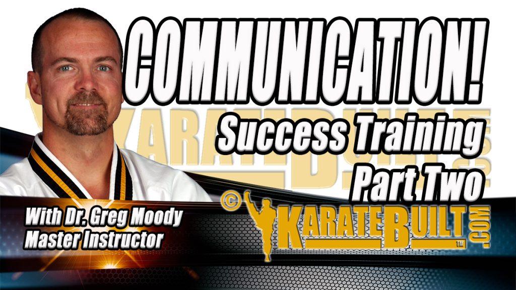 Communication Success Training Part 2