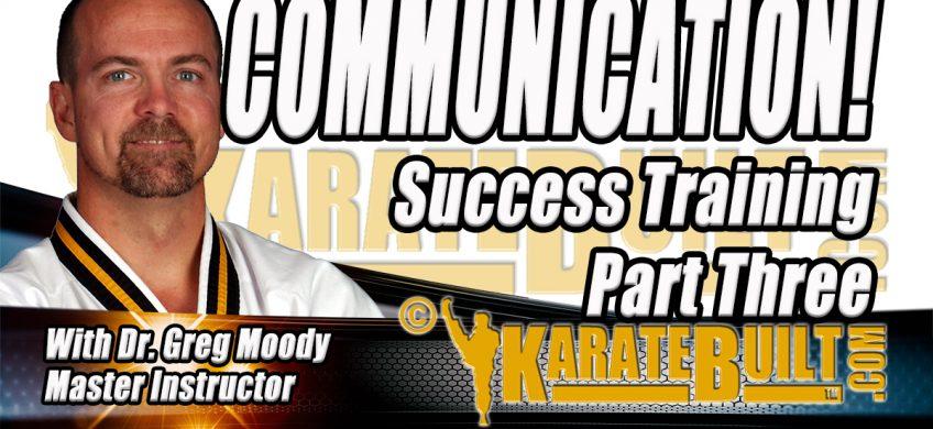 Communication Success Training Part 3