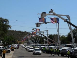 Yarnell Fire Procession