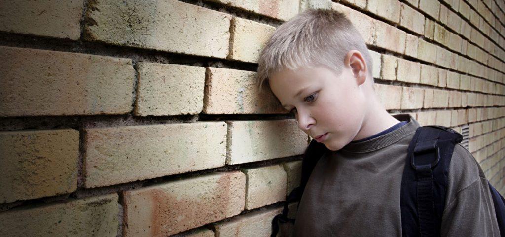 Bullying Prevention - upset boy