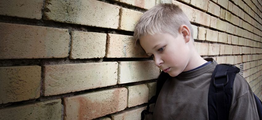Bullying Prevention - upset boy