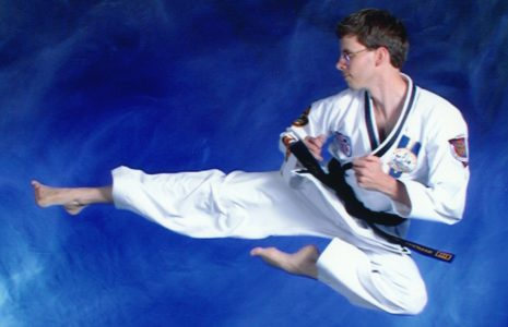 Eric Thomas Jump Side Kick